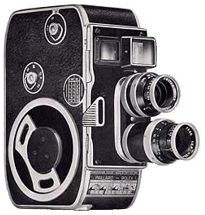 Bolex 8mm camera