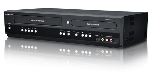 VHS naar DVD recorder